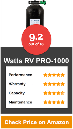 Watts RV PRO 1000 Water Softener