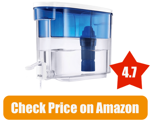 pur 18 cup dispenser with water filter pitcher 2017