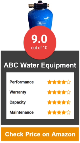 ABC Water Equipment Water Softener