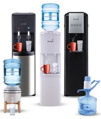 How does a Water Dispenser Work