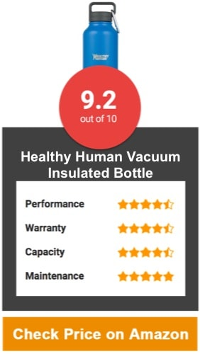 Healthy Human Water Bottle Vacuum Insulated Bottle