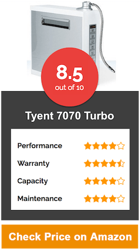 Tyent 7070 Turbo Water Ionizer