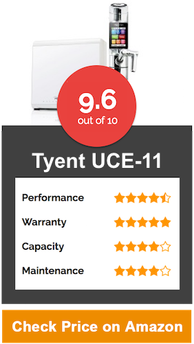 Tyent UCE-11 Under Counter Water Ionizer