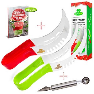 Chef's Path Watermelon Slicer Complete Bundle