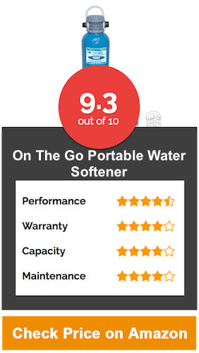 On The Go Portable Water Softener