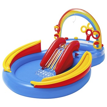 Intex Rainbow Ring Inflatable Water Table