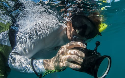How to take Pictures Underwater without a Waterproof Camera