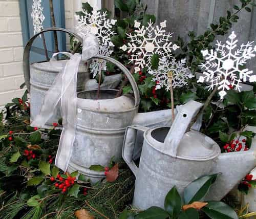 Watering Can for Garden Decoration