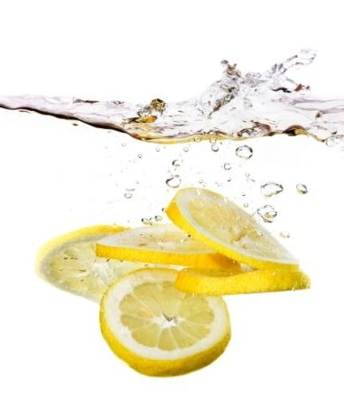 lemons have acidic properties that help in descaling hard water build-up