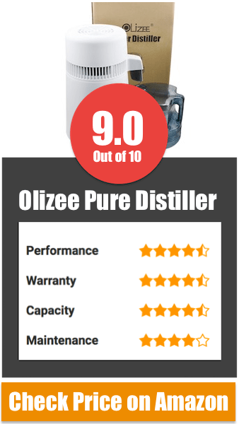 Olizee Pure Best Water Distiller Reviews