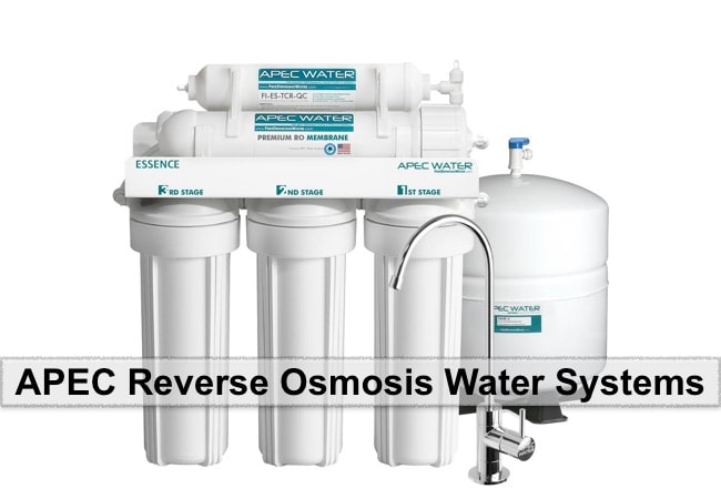 APEC Reverse Osmosis water system