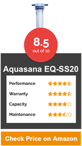 Aquasana EQ SS20 SimplySoft Water Softener