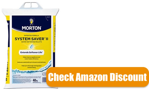 MORTON Salt System Saver II Pellets: Water Softening Pellets