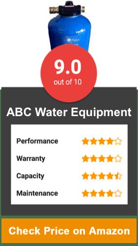 ABC Water Equipment Water Softener