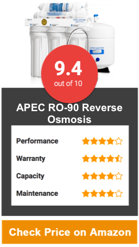APEC RO-90 Reverse Osmosis Water System