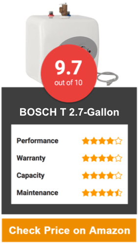 BOSCH T 2.7-Gallon Under Sink Mini-Tank
