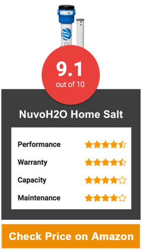 NuvoH2O Home Salt Water Softener System