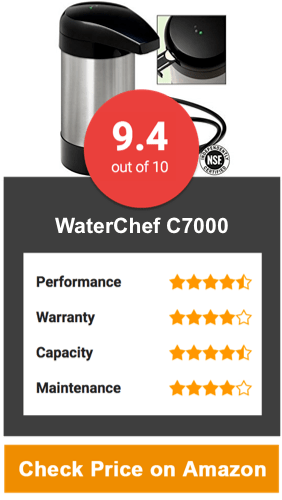 WaterChef C7000 Countertop Water Filter