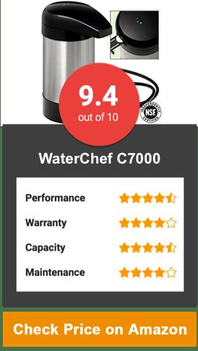 WaterChef C7000 Countertop Water Filter