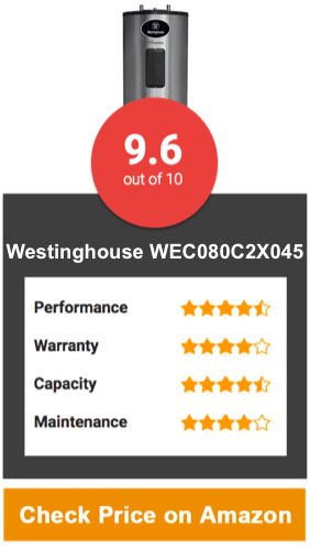 Westinghouse WEC080C2X045 80 Gallon