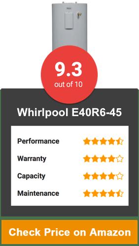 Whirlpool E40R6-45 Water Heater