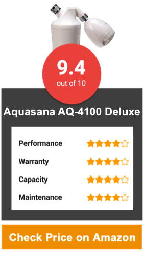 aquasana aq4100 deluxe shower water filter