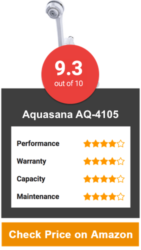 Aquasana AQ-4105 Shower Head Filter