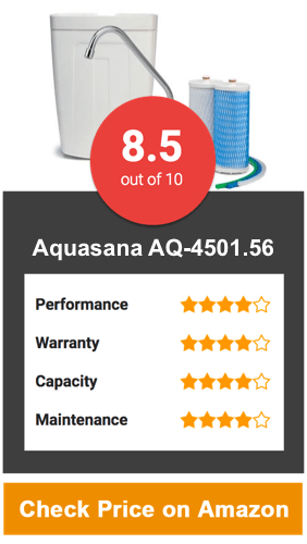 Aquasana AQ-4501.56 Premium Under Counter Water Filter