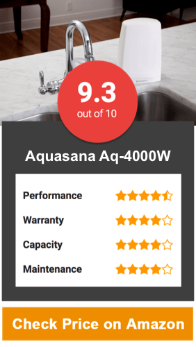 Aquasana Aq-4000W Countertop Water Filter System