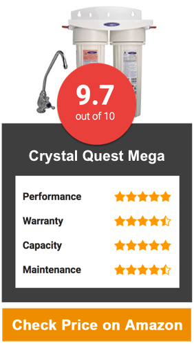 Crystal Quest Mega Under Sink Water Filter System