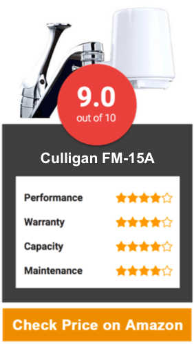 Culligan FM-15A Best Faucet Water Filter