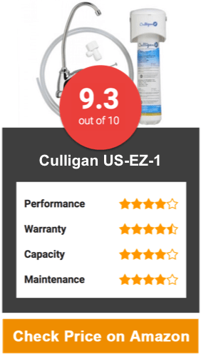 Culligan US-EZ-1 Under Sink Water Filter
