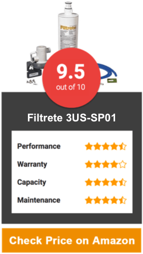 Filtrete 3US-SP01 Under Sink Water Filter