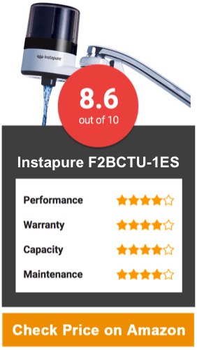 Instapure Brands F2BCTU-1ES Faucet Water Filter