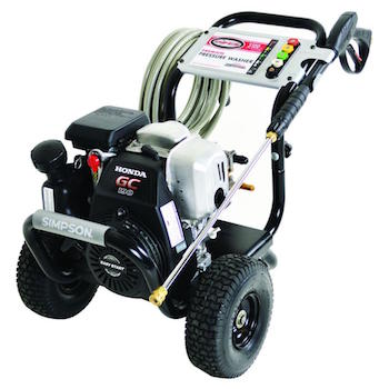 SIMPSON Cleaning MSH3125-S 3100 PSI Best Gas Pressure Washer Reviews