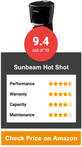 Sunbeam Hot Shot Hot Water Dispenser