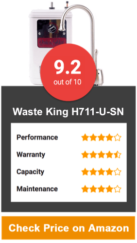 Waste King H711-U-SN Quick & Hot Water Dispenser