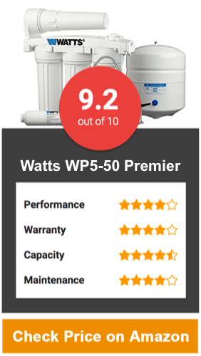 Watts WP5-50 Premier RO Water Filter