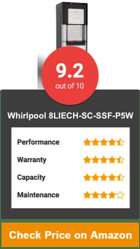 Whirlpool 8LIECH-SC-SSF-P5W Water Dispenser Cooler