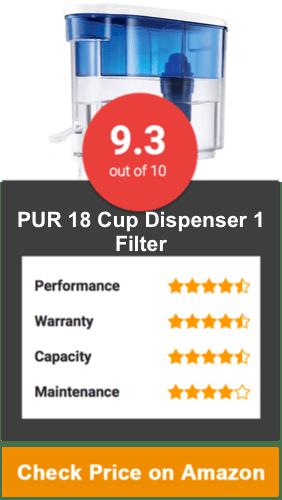 PUR 18 Cup Dispenser 1 Filter