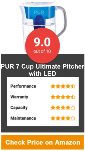 PUR 7 Cup Ultimate Pitcher with LED