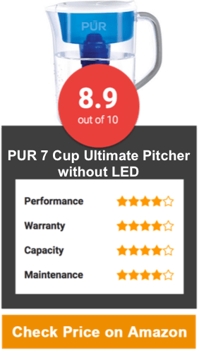 PUR 7 Cup Ultimate Pitcher without LED