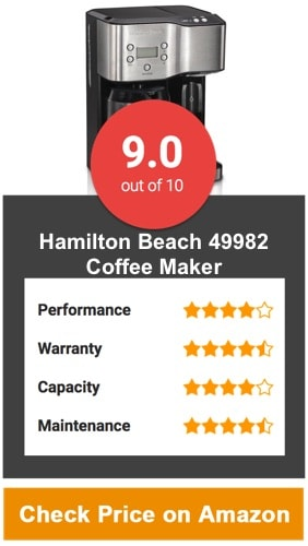 Hamilton Beach 49982 Coffee Maker