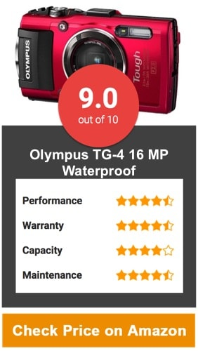 Olympus TG-4 16 MP Waterproof