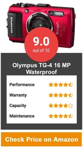 Olympus TG-4 16 MP Waterproof