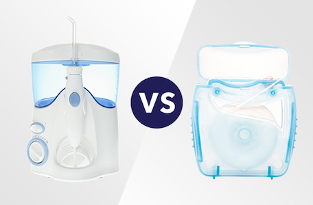 Water Flosser vs Flossing