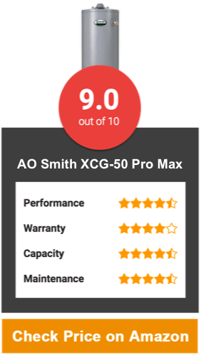 AO Smith XCG-50 Pro Max Tank Water Heater