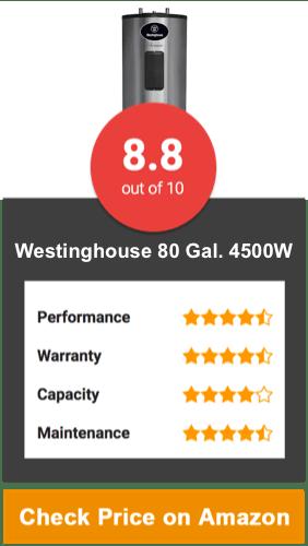 Westinghouse W Tank Water Heater