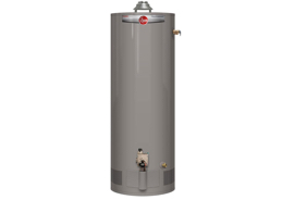 Rheem PROG40-38N RH59 Professional Classic Tall Residential 38K BTU Atmospheric Natural Gas Water Heater