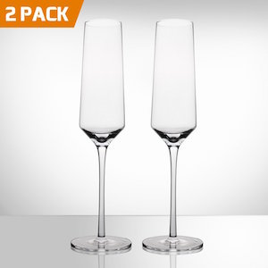 Bella Vino Crystal Champagne Water Glass